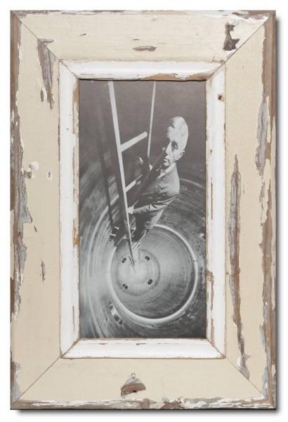 Panorama Bilderrahmen aus recyceltem Holz für Bildformat 29,7 x 14,8 cm