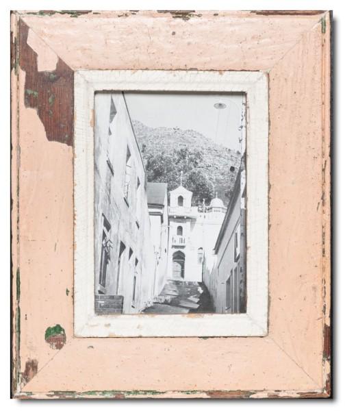 Bilderrahmen aus recyceltem Holz für Bildformat 14,8 x 21 cm von Luna Designs