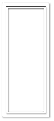 Spiegel - 55x133 - L