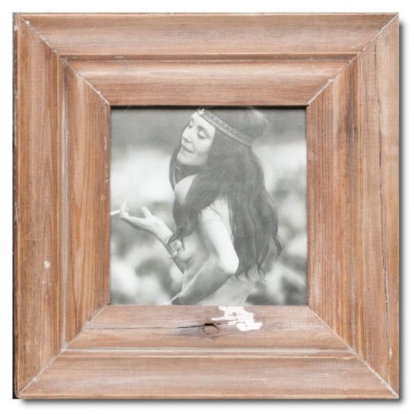 Altholz Bilderrahmen Quadrat für Fotoformat 14,8 x 14,8 aus Südafrika