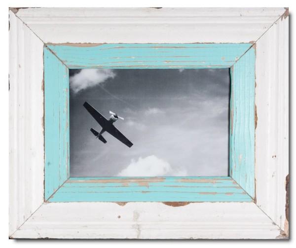 Breiter Altholz Bilderrahmen für Fotoformat 29,7 x 21 cm