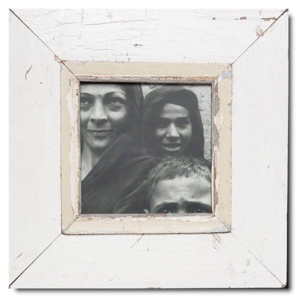 Quadrat Bilderrahmen aus recyceltem Holz für Fotoformat 14,8 x 14,8 aus Kapstadt
