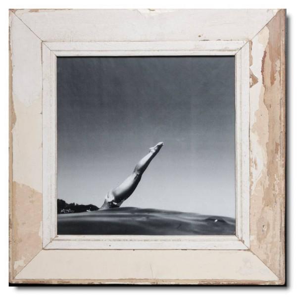 Altholz Bilderrahmen Quadrat für Fotoformat 29,7 x 29,7 von Luna Designs