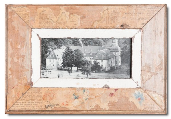 Panorama Bilderrahmen aus recyceltem Holz