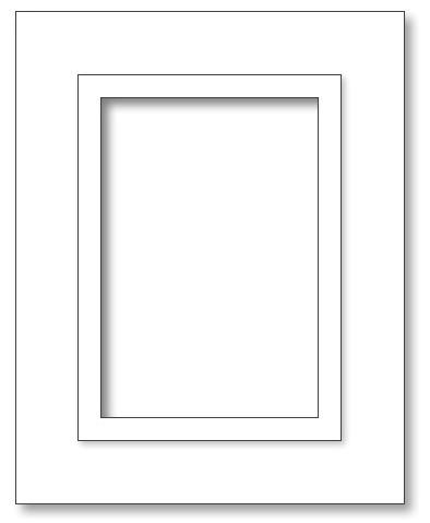 Bilderrahmen - A4 Box