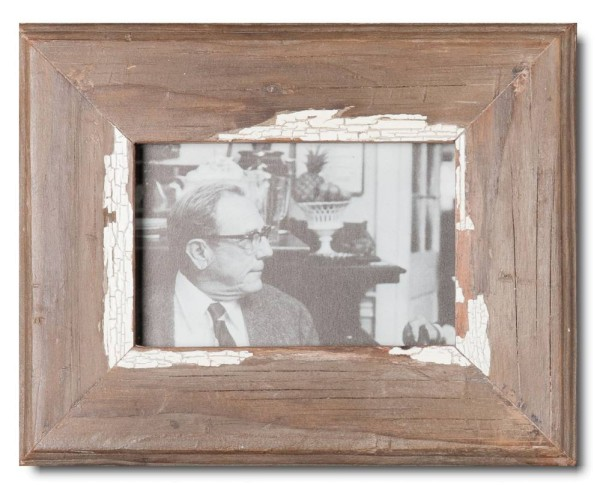 Basic Bilderrahmen aus recyceltem Holz für Bildgröße 10 x 15 cm von Luna Designs