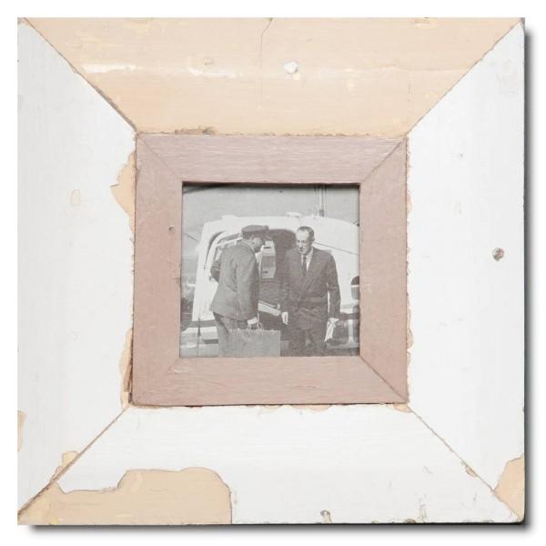 Quadrat Bilderrahmen aus recyceltem Holz aus Südafrika