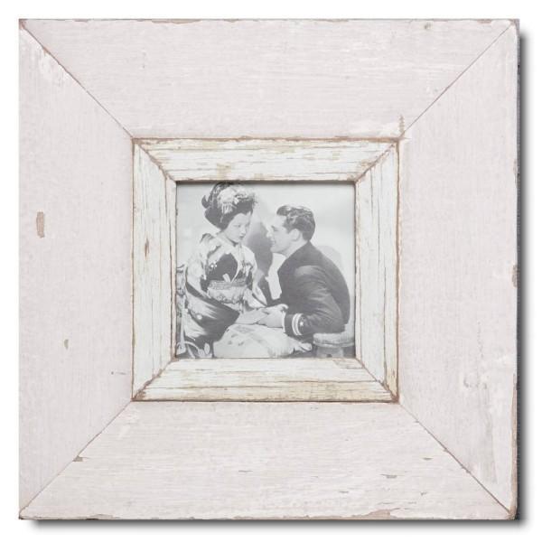 Altholz Bilderrahmen Quadrat für Fotoformat DIN A6 Quadrat aus Südafrika