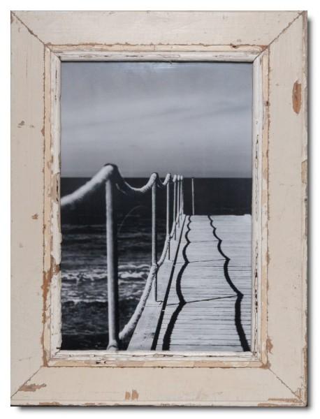 Bilderrahmen aus recyceltem Holz für Fotogröße DIN A3 von Luna Designs