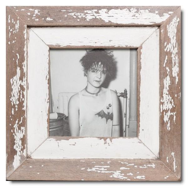 Altholz Bilderrahmen Quadrat für Fotogröße DIN A5 Quadrat aus Südafrika