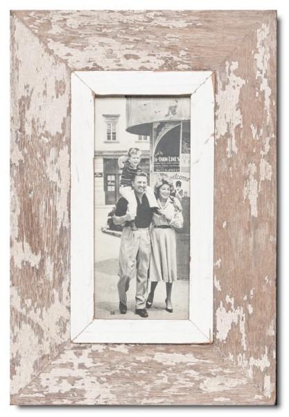 Panorama Bilderrahmen aus recyceltem Holz für Fotogröße 21 x 10,5 cm von Luna Designs