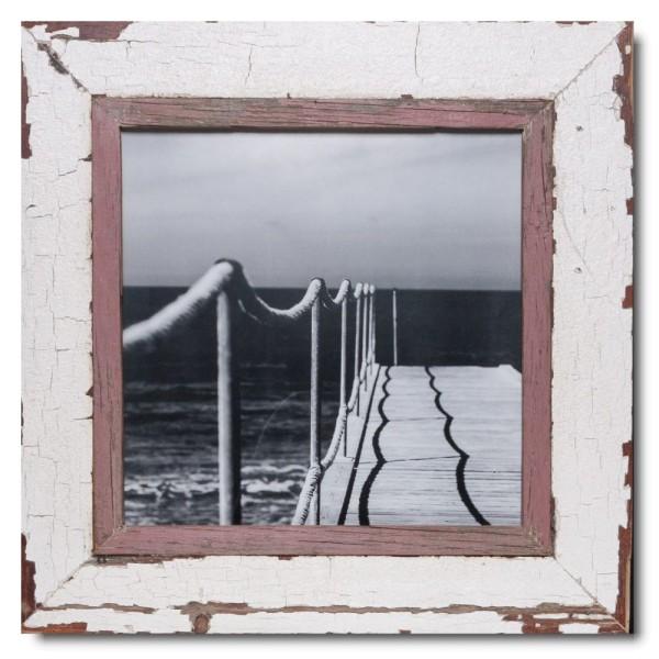 Altholz Bilderrahmen Quadrat für Fotoformat 29,7 x 29,7