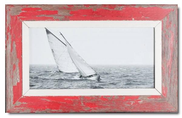 Panorama Bilderrahmen aus recyceltem Holz für Fotoformat 42 x 21 cm aus Kapstadt