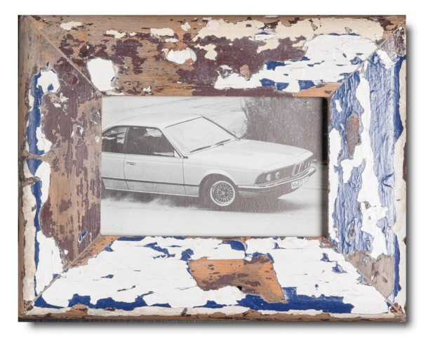 Basic Bilderrahmen aus recyceltem Holz für Fotogröße 10 x 15 cm von Luna Designs