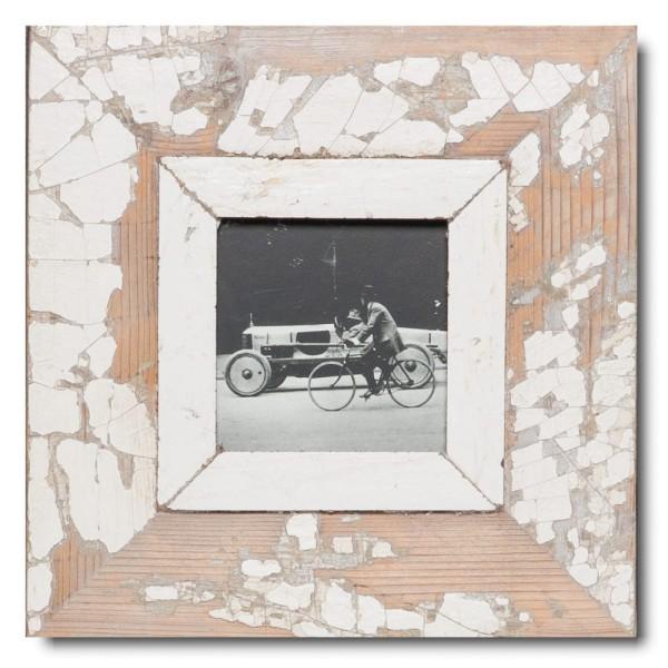 Quadratischer Vintage Bilderrahmen für Fotogröße DIN A6 Quadrat von Luna Designs