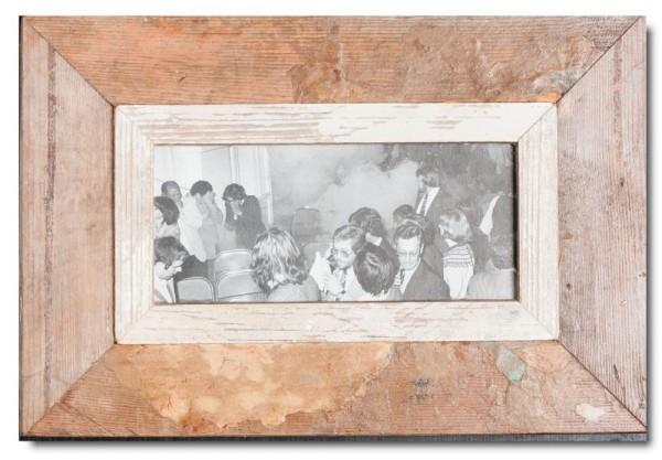 Altholz Bilderrahmen Panorama für Bildformat 21 x 10,5 cm