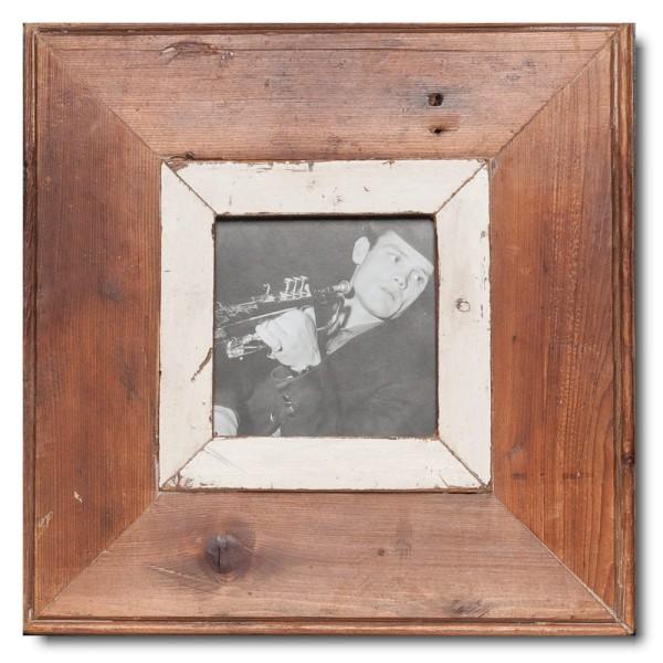 Altholz Bilderrahmen Quadrat für Bildformat DIN A6 Quadrat aus Südafrika