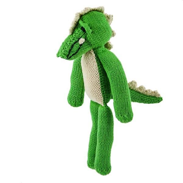 Hellgrünes Krokodil