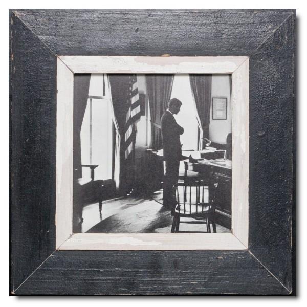 Quadratischer Vintage Bilderrahmen für Bildformat DIN A4 Quadrat