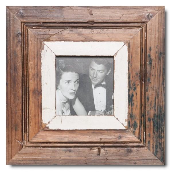 Quadratischer Vintage Bilderrahmen für Fotogröße 10,5 x 10,5