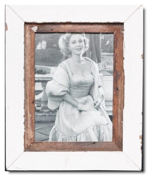 Basic Bilderrahmen aus recyceltem Holz für Bildformat 15 x 20 cm
