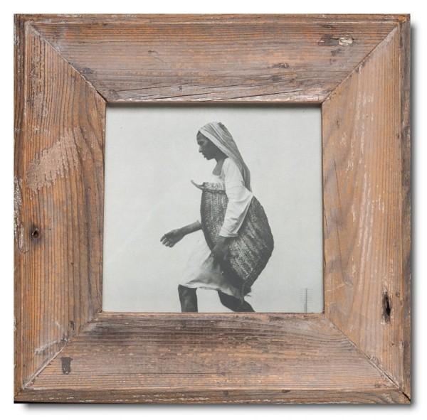 Quadrat Bilderrahmen aus recyceltem Holz für Bildformat 14,8 x 14,8