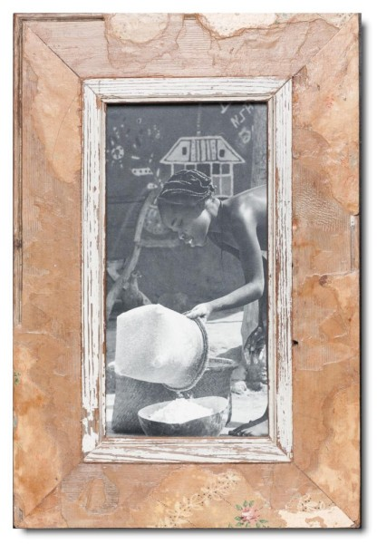 Altholz Bilderrahmen Panorama für Bildformat 29,7 x 14,8 cm aus Südafrika
