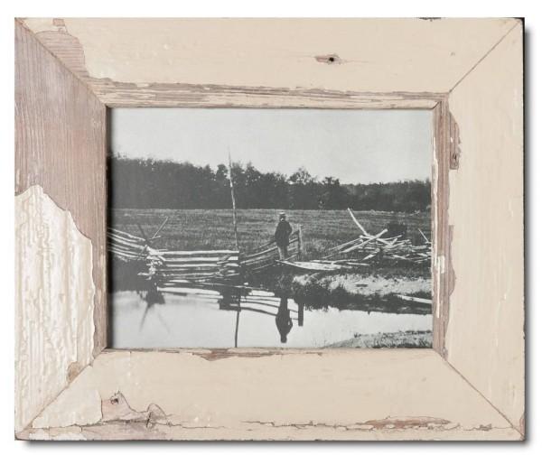 Basic Bilderrahmen aus recyceltem Holz für Bildgröße 15 x 20 cm aus Südafrika