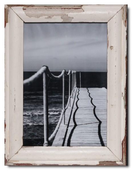 Bilderrahmen aus recyceltem Holz für Bildformat 29,7 x 42 cm von Luna Designs
