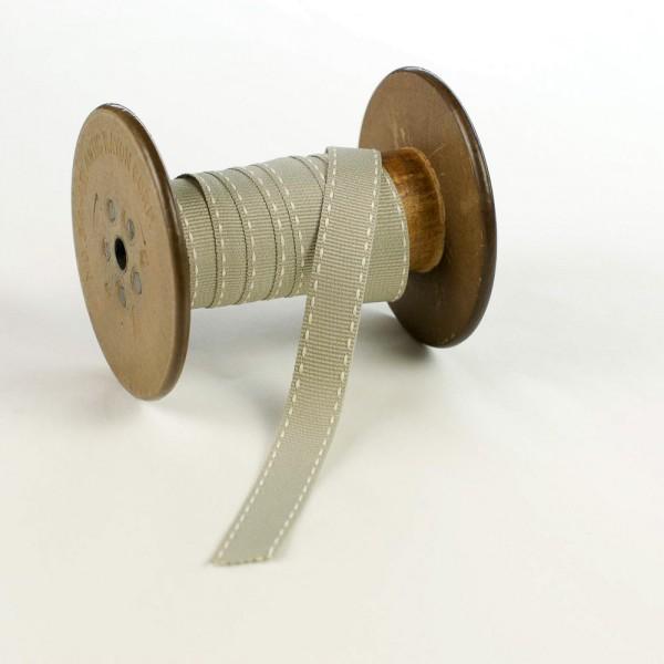 15mm Ripsband mit Sattelstich