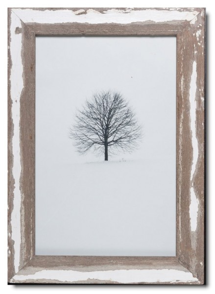 Basic Bilderrahmen aus recyceltem Holz für Fotoformat 25 x 38 cm