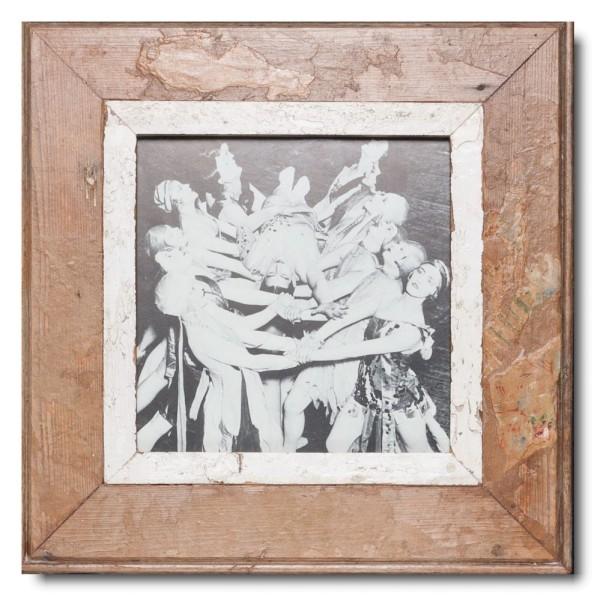 Quadratischer Vintage Bilderrahmen für Fotogröße DIN A4 Quadrat von Luna Designs