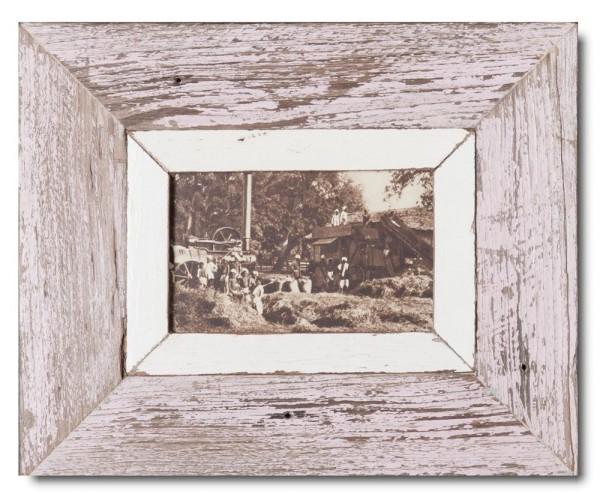 Bilderrahmen aus recyceltem Holz