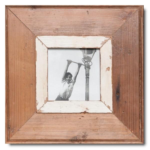 Quadrat Bilderrahmen aus recyceltem Holz aus Kapstadt
