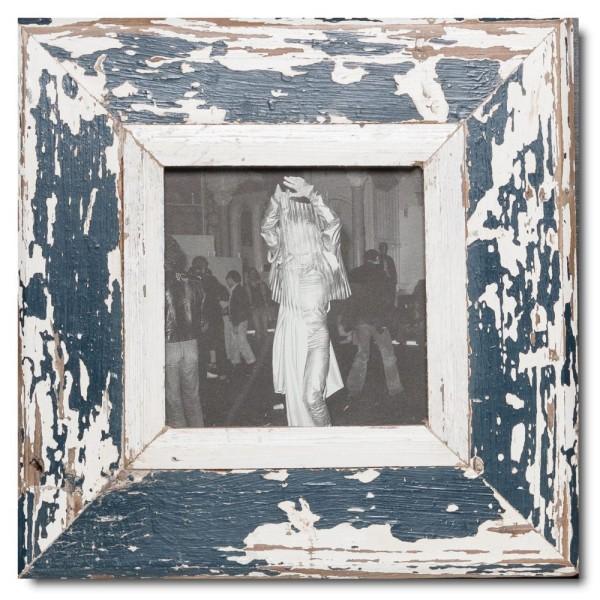 Quadrat Bilderrahmen aus recyceltem Holz für Bildgröße 14,8 x 14,8