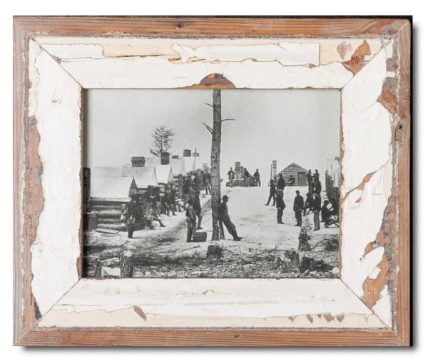 Basic Bilderrahmen aus recyceltem Holz für Fotoformat 15 x 20 cm aus Südafrika