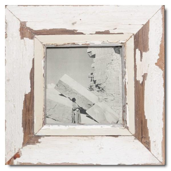 Quadratischer Vintage Bilderrahmen für Fotogröße DIN A5 Quadrat von Luna Designs