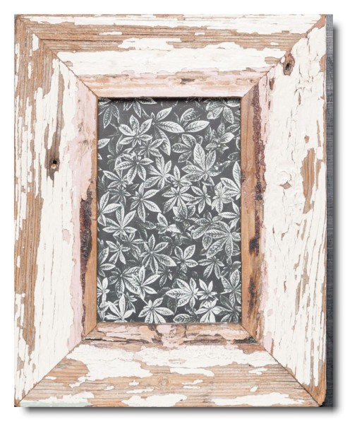 Basic Bilderrahmen aus recyceltem Holz für Fotoformat 10 x 15 cm
